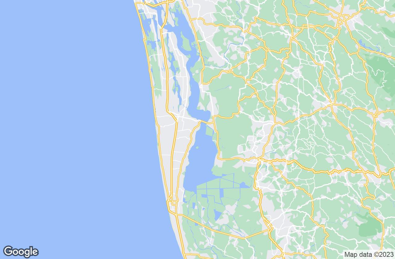 Google Map of Thanneermukkom