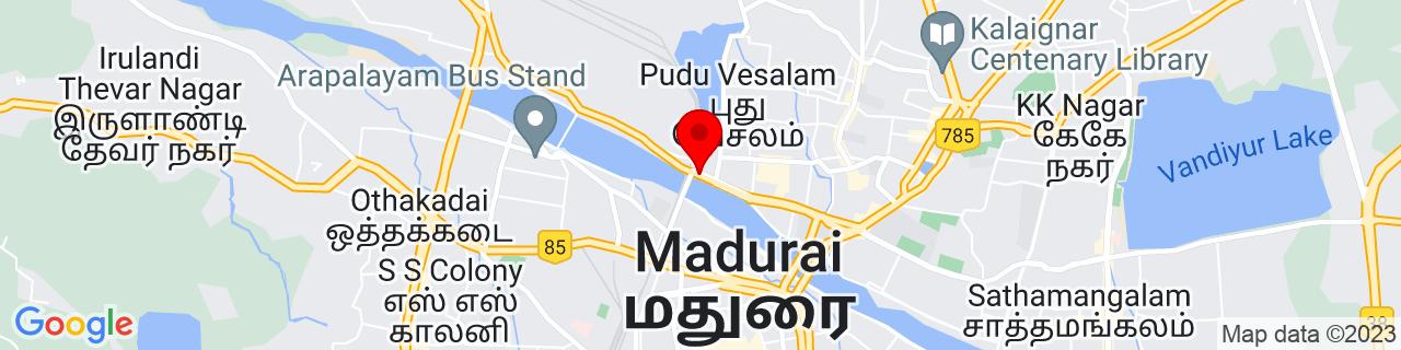 Google Map of 9.93333, 78.11667