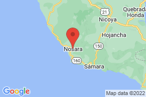 Map of Nosara