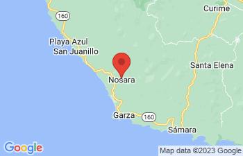 Map of Nosara