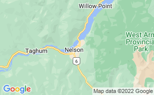 Map of Nelson City Campground