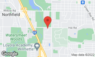 Map of 90 Meadowview Drive NORTHFIELD, IL 60093