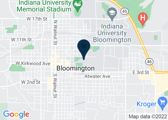 Map of 900 E 7th St, Bloomington, IN 47405, United States