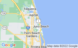Map of Juno Ocean Walk RV Resort