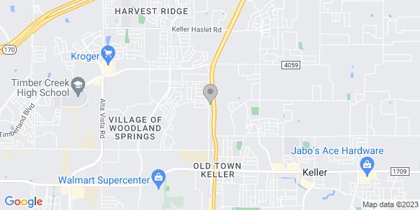 Google Map of 900 Katy Rd., Ste 200  Keller, TX 76244