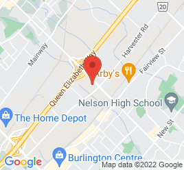 Google Map of 900+Walkers+Line%2CBurlington%2COntario+L7N+2G2