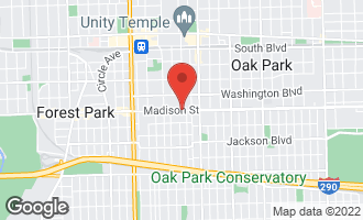 Map of 900 Madison Street OAK PARK, IL 60302
