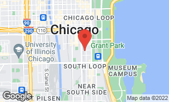 Map of 900 South Wabash Avenue #504 CHICAGO, IL 60605