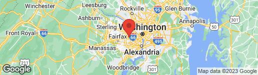 Map of 900 Washington Street S Falls Church, VA 22046