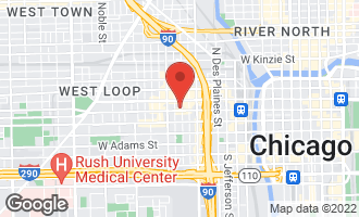Map of 900 West Washington Boulevard P2 CHICAGO, IL 60607