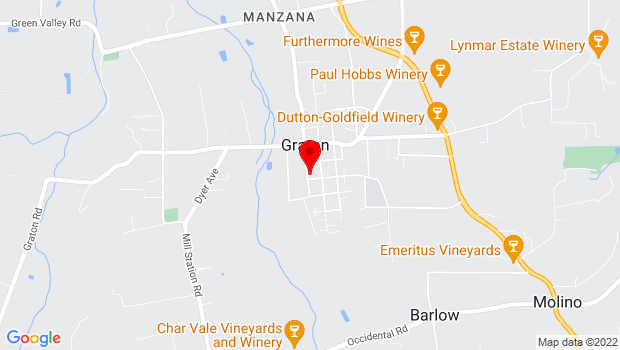 Google Map of 9000 Donald Street, Graton, Sebastopol, CA
