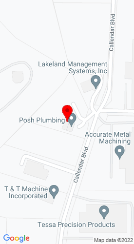 Google Map of Air Equipment Rental 901 Callendar Blvd., Painsville, OH, 44077