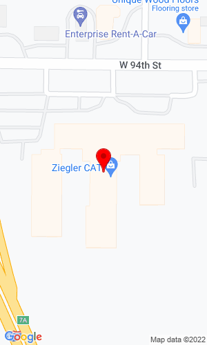 Google Map of Ziegler CAT 901 W 94th Street, Minneapolis, MN, 55420