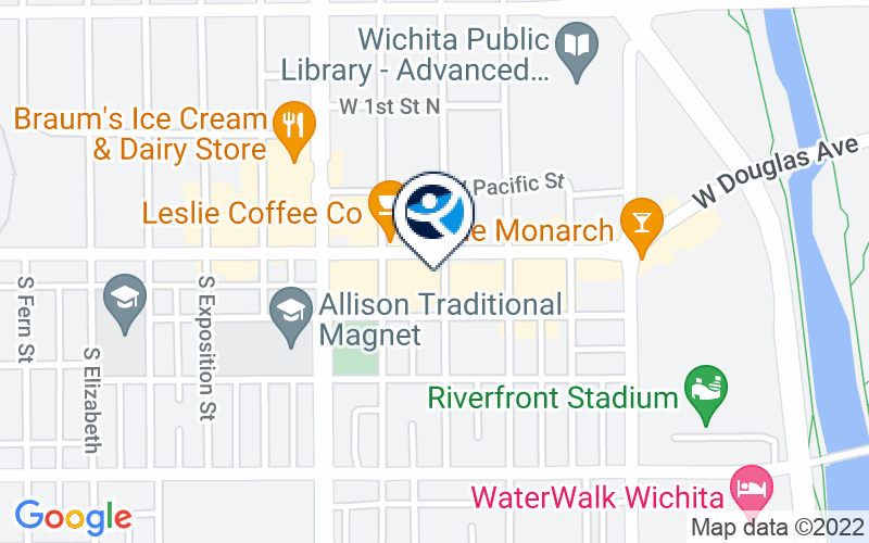 Valley Hope of Wichita Location and Directions