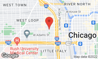 Map of 901 West Madison Street #408 CHICAGO, IL 60607