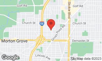 Map of 9014 Laramie Avenue SKOKIE, IL 60077
