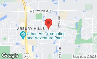 Map of 9024 Liscanor Avenue MOKENA, IL 60448