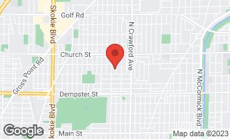 Map of 9026 Kedvale Avenue SKOKIE, IL 60076