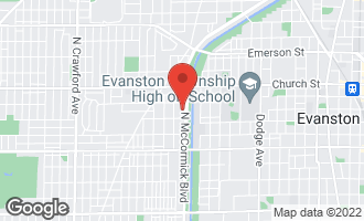 Map of 9028 Bennett Avenue EVANSTON, IL 60203