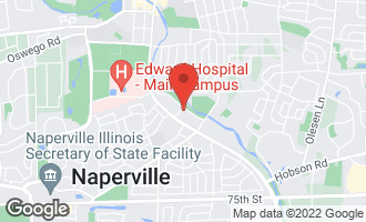 Map of 903 Edgewater Drive NAPERVILLE, IL 60540