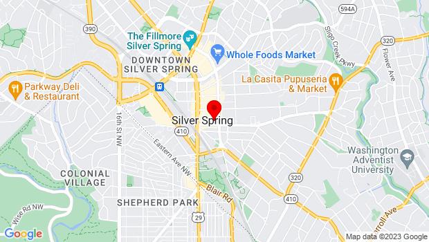 Google Map of 905 Sligo Avenue