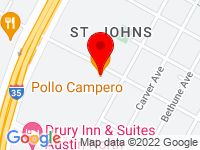 Google Map of 907 E St Johns Avenue