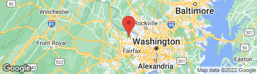 Map of 908 SENECA ROAD GREAT FALLS, VA 22066