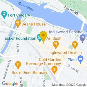 Map to Gravity Espresso and Wine Bar provided by Google