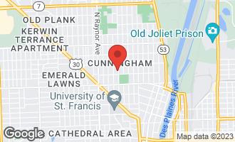 Map of 909 Clement Street JOLIET, IL 60435