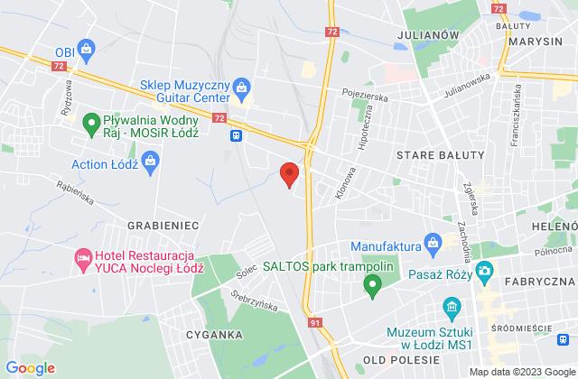 Wyświetl Apteka Czerwona M.Kwiatkowski Sp.J. na mapie