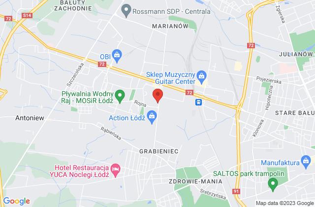 Wyświetl Krzysztof Woźniak,LUSET Krzysztof Woźniak na mapie