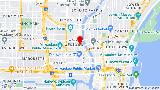 Google Map of 910 N. Old World Third St., Milwaukee, WI 53203