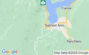 Map of Salmon River Motel & RV Park