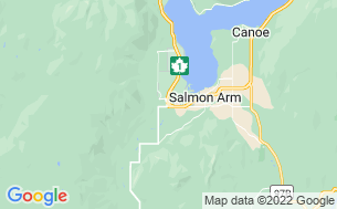 Map of Salmon River Motel & RV Park