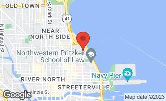 Map of 910 North Lake Shore Drive #1618 CHICAGO, IL 60611
