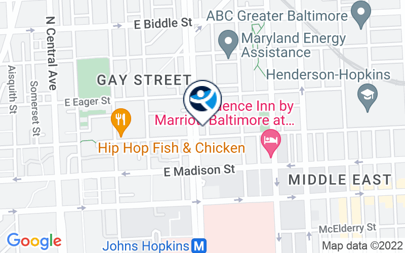Johns Hopkins Broadway Center for Addiction Location and Directions