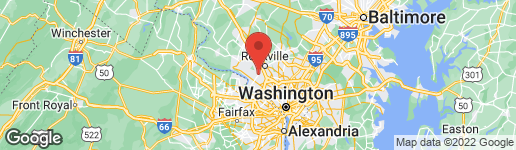 Map of 9110 SHAD LANE POTOMAC, MD 20854