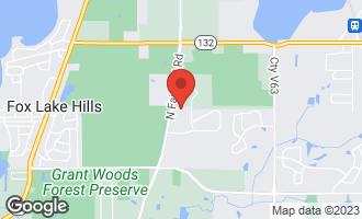 Map of 912 Cherokee Court LAKE VILLA, IL 60046