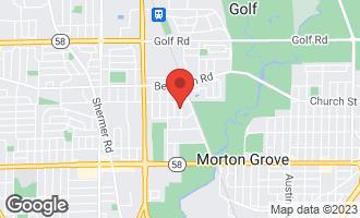 Map of 9124 Cherry Avenue MORTON GROVE, IL 60053