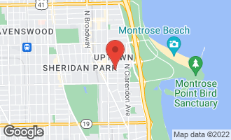 Map of 913 West Windsor Avenue 3W CHICAGO, IL 60640