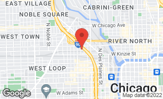 Map of 914 West Hubbard Street PHEAST CHICAGO, IL 60642