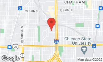 Map of 9143 South La Salle Street CHICAGO, IL 60620