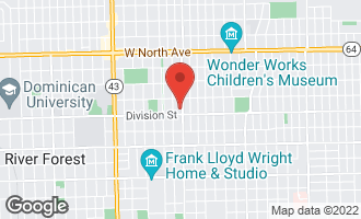 Map of 915 North Oak Park Avenue OAK PARK, IL 60302
