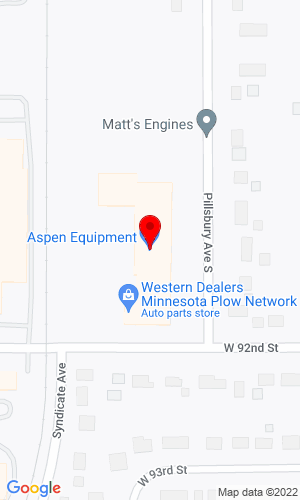 Google Map of Aspen Equipment Company 9150 Pillsbury Avenue S, Bloomington, MN, 55420