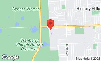 Map of 9169 Del Prado Drive 1E PALOS HILLS, IL 60465