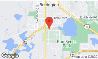 Map of 917 South Cook Street BARRINGTON, IL 60010
