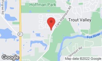 Map of 918 Chancery Lane CARY, IL 60013