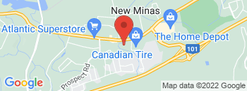 Google Map of 9184+Commercial+Street%2CNew+Minas%2CNova+Scotia+B4N+3V9