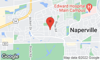 Map of 919 Mortonsberry Drive NAPERVILLE, IL 60540