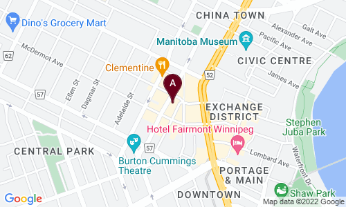 map of RED RIVER BOOKS